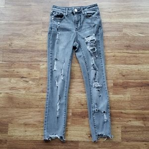 RSQ Size 1 Manhattan High Rise Ankle Jeans
